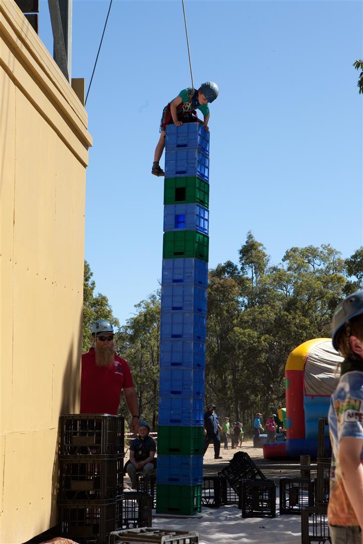 Manjedal Activities Centre 187 Crate Climb